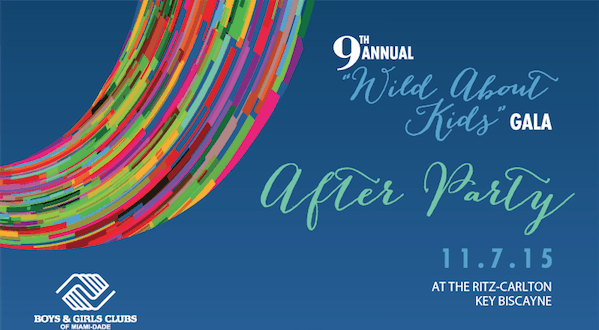 """Tickets Are Now Available For The 9th Annual """"Wild About Kids"""" Gala After Party"""