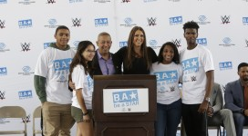 Boys & Girls Clubs of Miami-Dade Hosted WWE and Boys & Girls Clubs of America's Be a STAR Rally