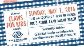 Claws for Kids 2016