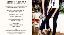Jimmy Choo Invites You to Discover the Cruise 2017 Collection!