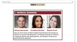 South Florida Business Journal - Boys & Girls Clubs of Miami-Dade - New Hire - 4-21-17