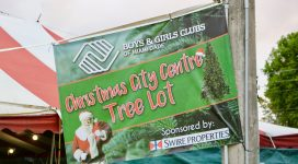 Christmas City Centre Tree Lot Giveaway